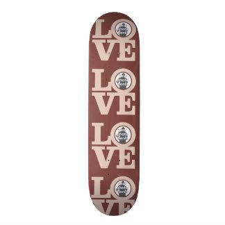 LOVE with YOUR 4 PHOTOS custom skateboard