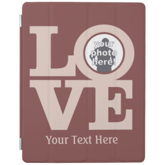 LOVE with YOUR PHOTO custom device covers iPad Cover