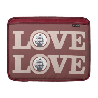 LOVE with YOUR PHOTO custom device sleeves