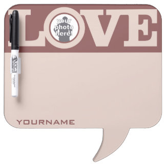 LOVE with YOUR PHOTO custom message board