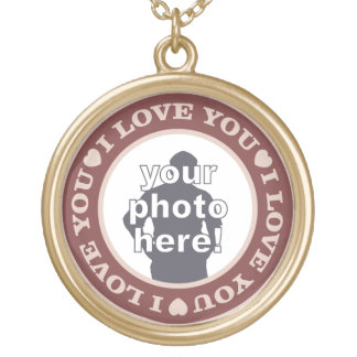 LOVE with YOUR PHOTO custom necklace