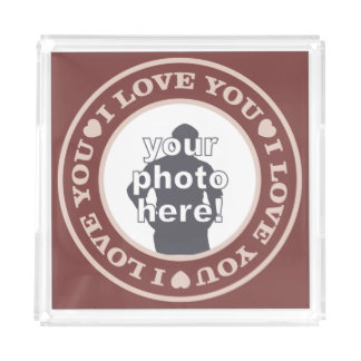 LOVE with YOUR PHOTO custom trays