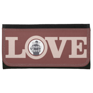 LOVE with YOUR PHOTO custom wallet