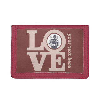 LOVE with YOUR PHOTO custom wallets