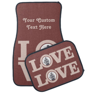 LOVE with YOUR PHOTOS custom floor mats