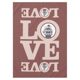 LOVE with YOUR PHOTOS custom table cloth