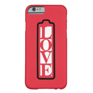 LOVE WORD BARELY THERE iPhone 6 CASE