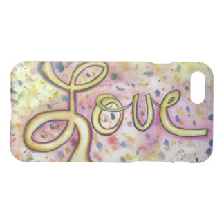 Love Word Inspirational Art Custom iPhone 7 Case