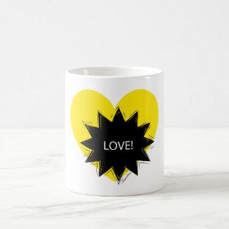 Love wow yellow! coffee mug