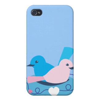 Love wrens lovebirds nest iPhone 4 covers