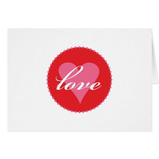love xoxo greeting cards
