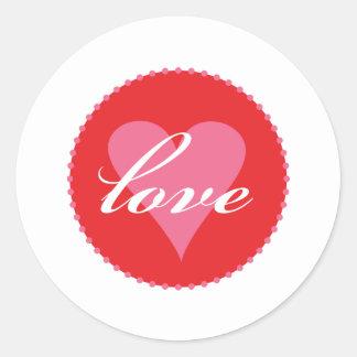 love xoxo sticker