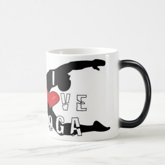 Love YOga Magic Mug