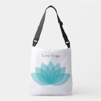 Love yoga tote bag.