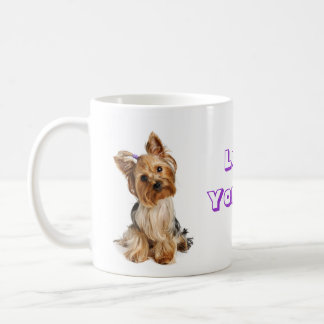 Love Yorkie Yorkshire Terrier Puppy Dog Coffee Mug