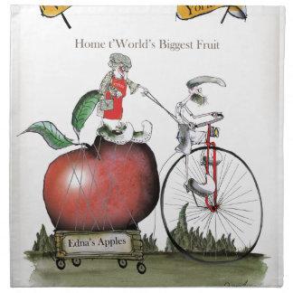 Love Yorkshire big apples Napkin