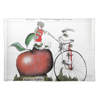 Love Yorkshire big apples Placemat