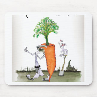 Love Yorkshire big carrots Mouse Mat