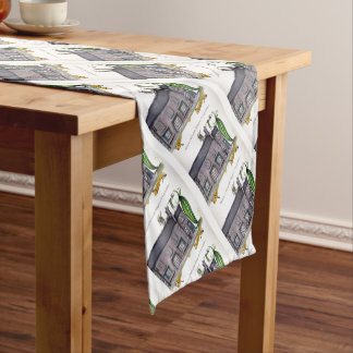 Love Yorkshire big peapods Short Table Runner