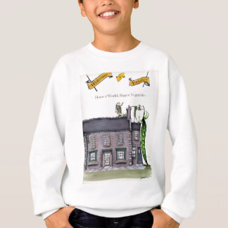 Love Yorkshire big peapods Sweatshirt