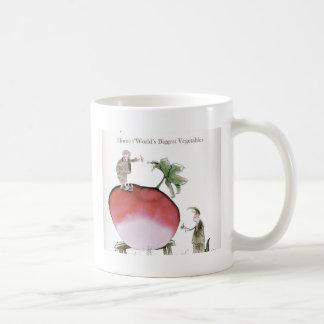Love Yorkshire big radish Coffee Mug