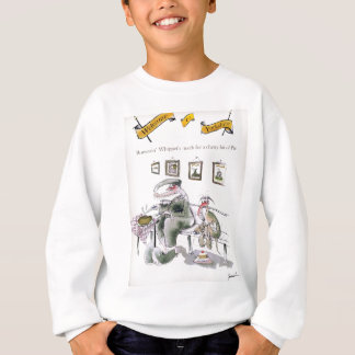 love yorkshire borrowing whippets teeth sweatshirt