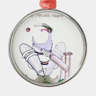 Love Yorkshire Cricket 'biggest gobs' Christmas Ornament