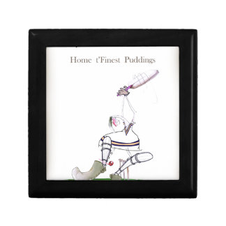 Love Yorkshire Cricket 'finest puddings' Gift Box