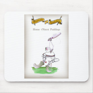Love Yorkshire Cricket 'finest puddings' Mouse Mat