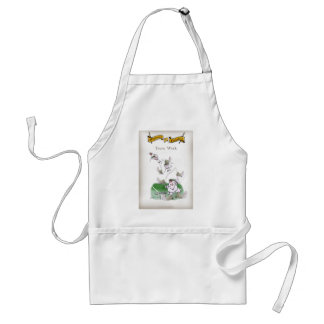 Love Yorkshire Cricket 'team work' Standard Apron