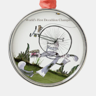 love yorkshire decathlons christmas ornament