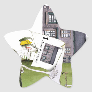 love yorkshire 'ey up, jobs a good 'un' star sticker