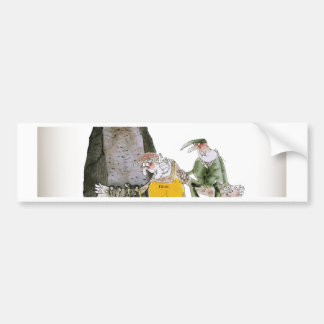 love yorkshire falconry display bumper sticker
