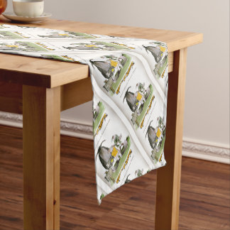love yorkshire falconry display short table runner