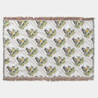 love yorkshire falconry display throw blanket