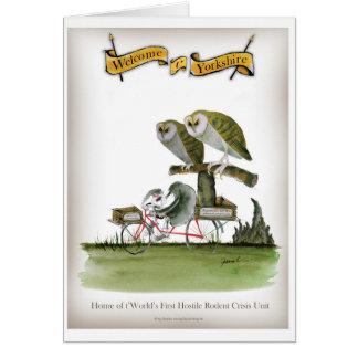 love yorkshire hostile rodent unit card