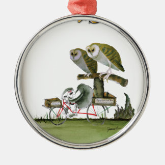 love yorkshire hostile rodent unit christmas ornament