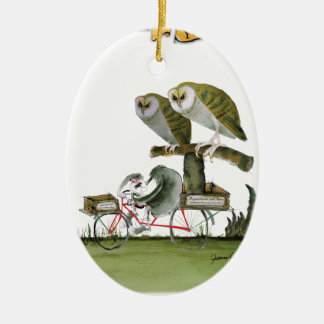 love yorkshire hostile rodent unit christmas ornament