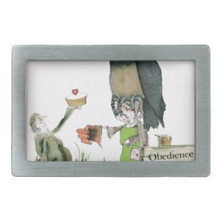 love yorkshire obedience class rectangular belt buckles