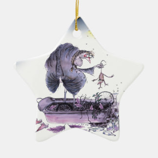 love yorkshire ol' ma ferret christmas ornament