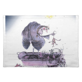 love yorkshire ol' ma ferret placemat