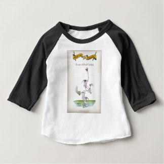 Love Yorkshire 'real cricket' Baby T-Shirt