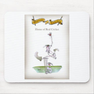 Love Yorkshire 'real cricket' Mouse Mat