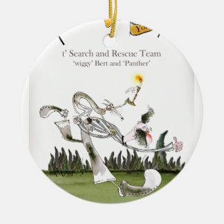 love yorkshire search and rescue christmas ornament