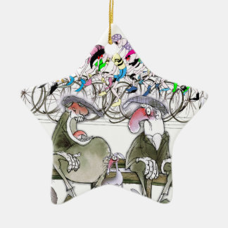 Love Yorkshire t'aint reet wearing fancy jumpers Christmas Ornament