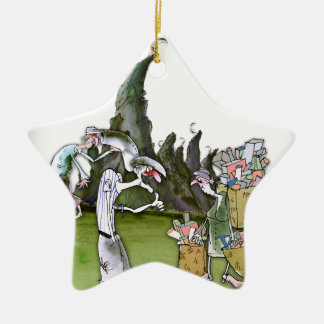 Love Yorkshire visitors Christmas Ornament