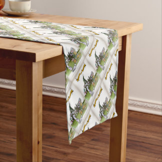 Love Yorkshire visitors Short Table Runner