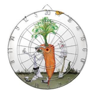 Love Yorkshire 'world's biggest carrot' Dartboard