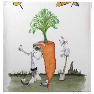 Love Yorkshire 'world's biggest carrot' Napkin