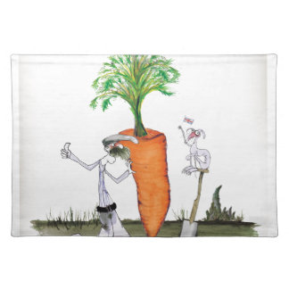 Love Yorkshire 'world's biggest carrot' Placemat